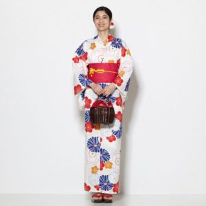 梅菊桜の浴衣