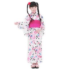 単品 女児浴衣レトロ桜