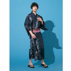 麻の葉浴衣